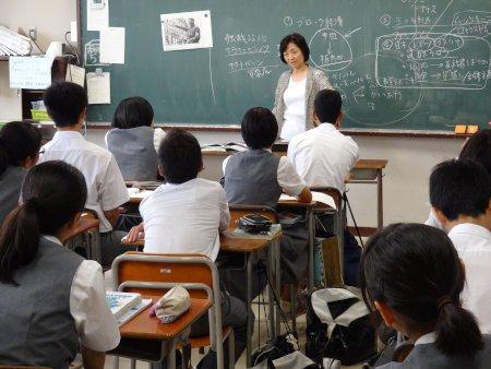 世田谷区立深沢中学校 教室